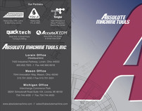 Absolute Machine Tools Product Line Card