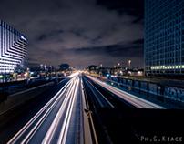 La Defense - Paris Urban Night Exploration