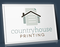 Country House Printing Logo