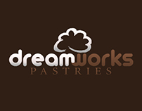 DreamWorks Pastries Logo & Business Cards