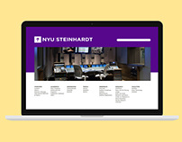 NYU Steinhardt Website Proposal