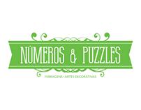 Números & Puzzles Branding