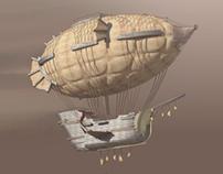 Airship 'Iron Agile'  Turntable