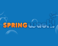 Diseño de Logotipo Spring Wash