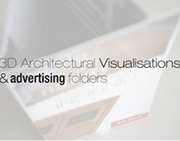 3D Architectural Visualisations & Advertising Folders