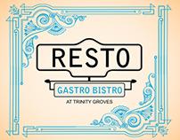 Resto Gastro Bistro - Restaurant Menu Design