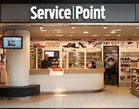 Retail design | Service Point | Schiphol Plaza | ZR