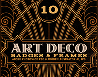 ArtDeco Badges & Frames