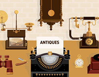 Antiques : Stock Vectors