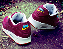 Nike Air Max 90 x 'Parra' Custom