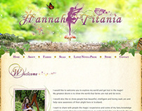 Hannah Titania Website