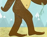 Bigfoot Illustrations