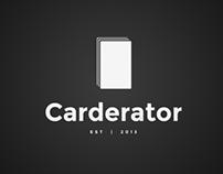 Carderator App Design