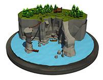 Överfall 3D Game