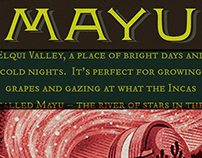 MAYU VINEYARDS: Branding + Packaging
