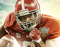 Alabama Spring Game Marketing Poster