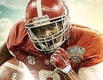 Alabama Spring Game Marketing Poster