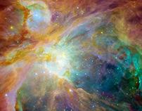 nebula viewed with Hubble telescope