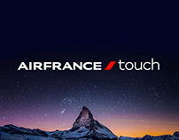 Air France Touch opening entertainment