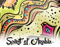 Spirit of Arabia - Stickers
