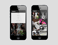 Studio Ten Design 2014 Website