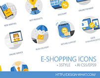 E-Shopping Icons