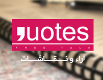 QUOTES Free Talk LOGO