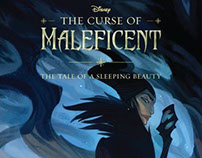 The Curse of Maleficent - Book Cover
