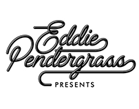 Eddie Pendergrass Presents Logotype and Label Design