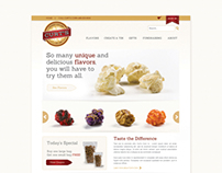 Curts Corn Website Design