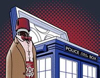 THE DOCTOR PEPPER: T-SHIRT