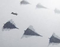 FONETIC [experimental font]