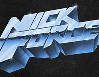 Nick Force chrome logo
