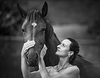 Focení s koníkama