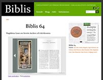 Webbplats åt Föreningen Biblis