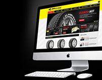 JK Tyre Website Redesign Concept