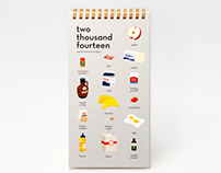 Illustrated Recipe Calendar