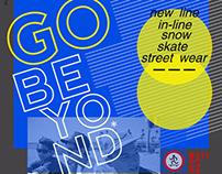 GNU posters (snow/skate/in line)