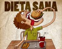 Dieta sana una vez cada semana