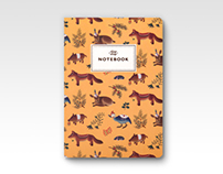 Forest Animals Notebooks