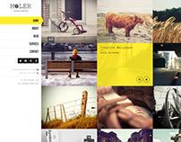 Full Screen WordPress Portfolio