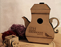Design: Wooden Teapot Birdhouse