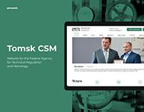 Tomsk CSM website design
