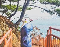 BUNNY RANAWAY KOREA BUSAN SONGDO SEASIDE PARK