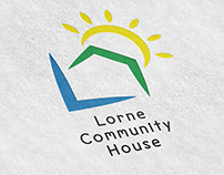 The Lorne Community House Branding