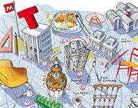 Fuorisalone 2014-Milano Map