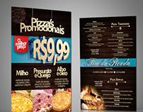 Restaurante Fim da Picada-Cardápio Pizzas Promocionais