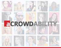 aCrowdability | Web Design