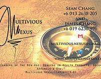 Multivious Nexus: Company Logo and Card Design