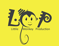 Little Monkey Production Logo Design